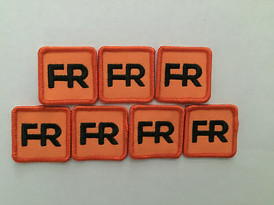 "Qty. 7 fr patches - 1 1/2"" square.  Iron on or sew on."