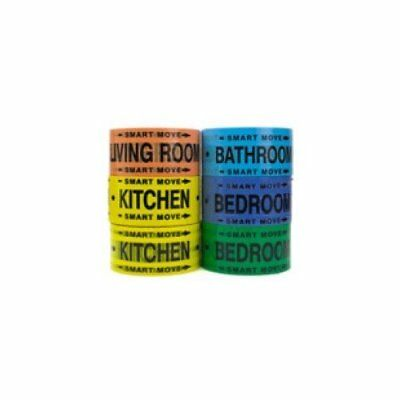 Moving Supplies - 2 Room Labeling Tape--tape for Your Bedroom, Living Room