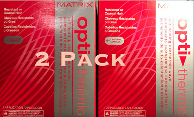 Matrix Opti-Thermic Self-Heating Exothermic Wave Resistant /Coarse Hair (2 Pack)