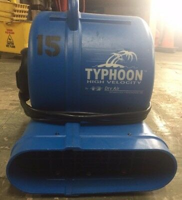 Dry-Air Typhoon High Velocity Air Mover (10601) USED.