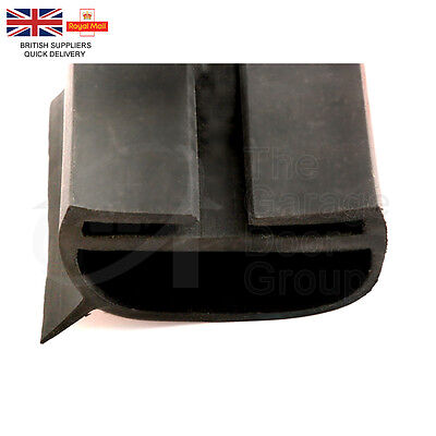 Industrial Wrap Around Roller Shutter Bottom T Rail Rubber Door Seal Threshold