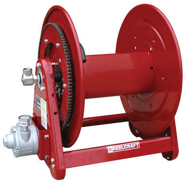 """REELCRAFT AA32112 L4A 1/2"""" x 200ft. 1000 psi Air Motor Driven Reel without Hose"""