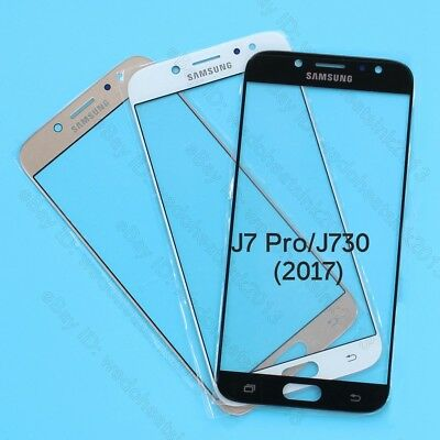 New Front Touch Screen Glass Lens Cover For Samsung Galaxy J7 Pro J730 (2017)