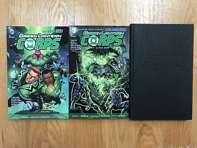 Green Lantern Corps New 52 Vols 1 2 3 Soft Hard Cover