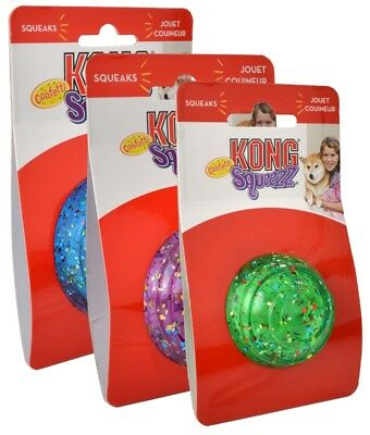 KONG Squeezz Confetti Stick Asst Colors Free Shipping