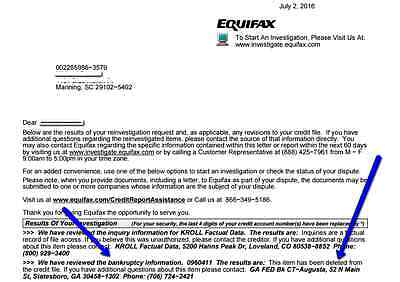 Remove Anything Credit Repair Bankruptcy Removal Equifax Credit Sweep