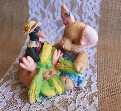 """1994 ENESCO TLP  """"Nothing Corny Bout You And Me""""  THIS LITTLE PIGGY ~ new in box"""