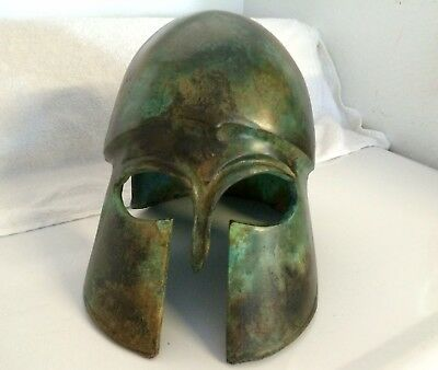 Ancient Greek Spartan Corithian Helmet - museum quality