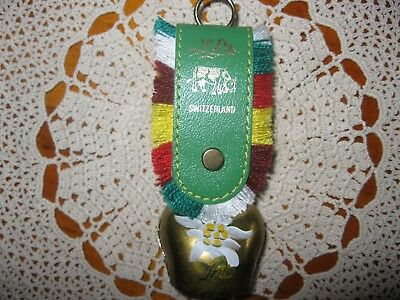 Vintage Well Detailed Interlaken,Switzerland,Alps,Cow Bell.A1 Condition.Reduced!