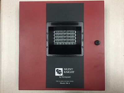 Honeywell SK-4 Silent Knight Fire Alarm System Panel 4 Zone Small Conventional