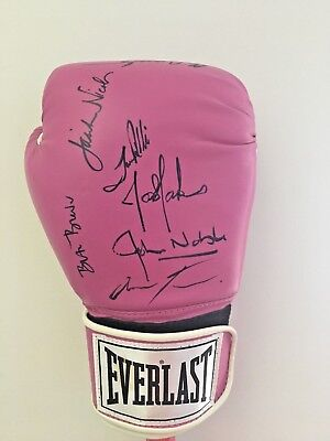 Pink Boxing Glove Autographed by Anna Torv
