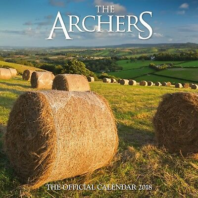 The Archers Official 2018 Square Wall Calendar UK Radio 4 Soap Opera 30x30cm NEW