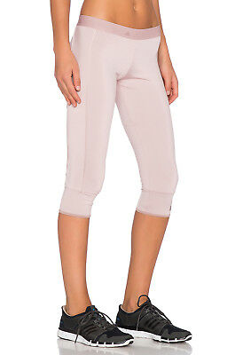Adidas Stella McCartney Womens 3/4 Leggings Tights Dusty Ro AA8616