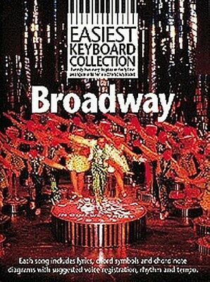 Easiest Keyboard Collection Broadway Melody Lyrics Chords Book
