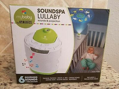 myBaby Soundspa Lullaby Sounds and Projection Machine by Homedics