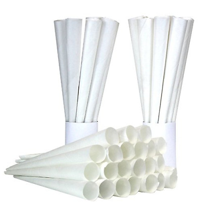 Cotton Candy Floss Paper Cones Stick Holder Wands Kit Refill Box Party 200 Pcs
