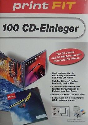 print Fit 100 CD-Einleger 140 g/m²