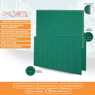 Larger than A0 1.8m by 0.9m 5 Ply Self Healing Cutting Mat Quilting Scrapbook