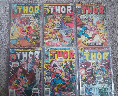 the Mighty Thor (1966) 244 245 246 248 249 250