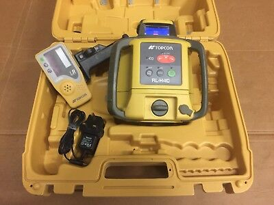 Topcon RL-H4C Rotating Laser Level With Tripod And Staff