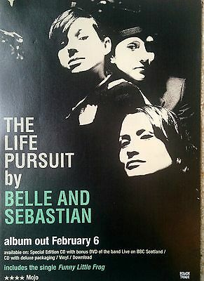Belle & Sebastian - The Life Pursuit - Full Page Magazine Advert Picture 2006