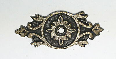 Antique Solid Metal Narrow Decorative Back Plate Base for Knobs