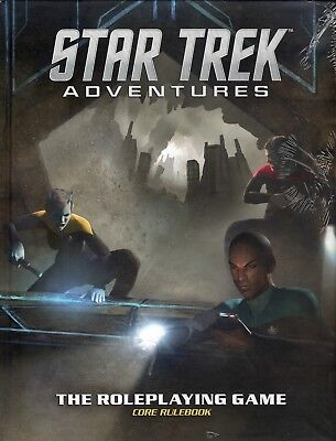 Modiphius: Star Trek Adventures RPG (Core Rulebook) (HC) in shrink-wrap