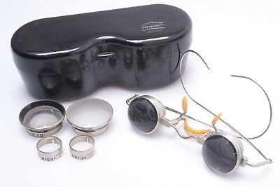 Zeiss *very Rare* Magnifying Glasses, Spectacle, Jeweler, Surgeon In Case