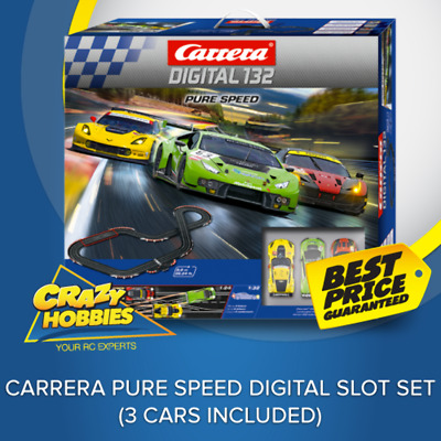 Carrera Pure Speed Digital Slot Set (3 Cars Included)