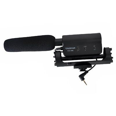 ATian SGC-598 Recording MIC Microphone for Nikon Canon Camera Camcorder Dslr