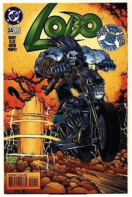 Lobo 24 VF/NM 1995 DC Comics Stargaze Rally BIG Finale Grant Ellis