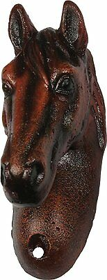 HORSE HEAD BOTTLE OPENER Wall Mount Cast Iron Country Western Decor