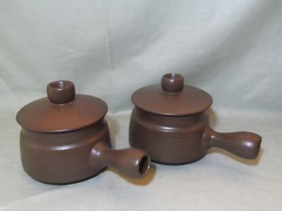 2 Denby/Langley Mayflower Individual Casserole Dishes