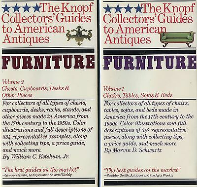 American Antique Furniture - Types Makers Dates / Illustrated Two-Vol. Book Set