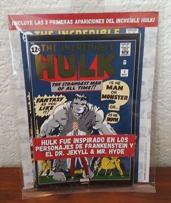 Hulk #1 Mexican Foiled Gold Variant Cover Sealed Pack includes Hulk 1,2 & 3