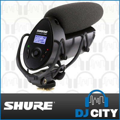 Shure VP83F Lens Hopper On-Camera Microphone Condenser Mic w/ Flash Recorder
