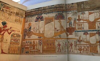 4 Vols RARE SET Temple King Sethos Abydos CALVERLEY Egypt Amen-Re Osiris Horus