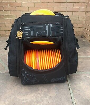 Grip Eq Disc Golf Bag Ax 15 Black Backpack Excellent Condition Ranger Only