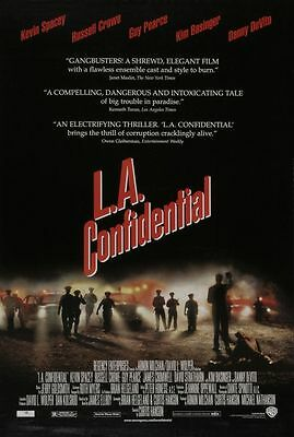 L.A. Confidential Original US One Sheet Movie Poster DS