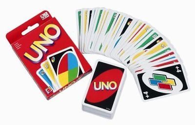 UNO Card Game 108 Cards Great Family Fun Children Friend Travel Party UK SELLER