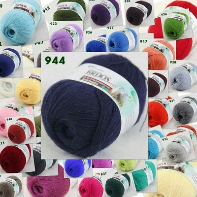 Sale New 1 ballx50gr LACE Soft Crochet Acrylic Wool Cashmere hand knitting Yarn