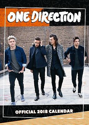 One Direction Official 2018 A3 Wall Calendar 1D Niall Harry Liam Louis BRAND NEW