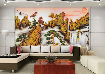 3D Scenic Area Draw 97 Wall Paper Murals Wall Print Wall Wallpaper Mural AU Kyra