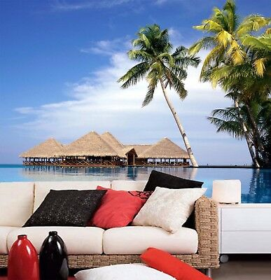 3D Vacation Island 97 Wall Paper Murals Wall Print Wall Wallpaper Mural AU Carly