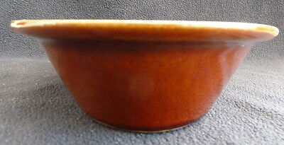 Vintage Denby Stoneware Pottery Brown Oval Pie / Serving Dish 1 Pint