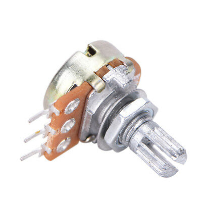10 PCS WH148 B10K Linear Potentiometer 15mm Shaft With Nuts And Washers Pop UK