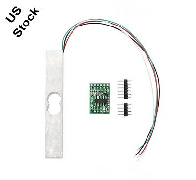 5KG Scale Load Cell Weight Weighing Sensor + HX711 Weighing Sensor AD Module