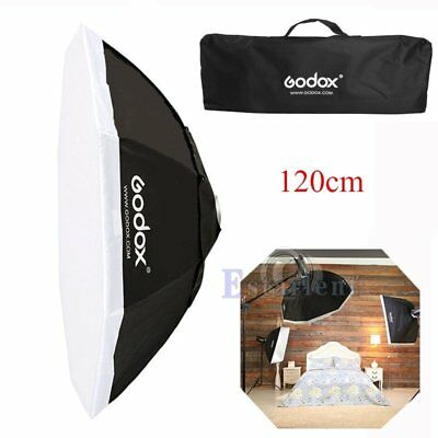 Godox 120cm Octagon Umbrella Bowens Mount Softbox Reflector F Studio Flash Light