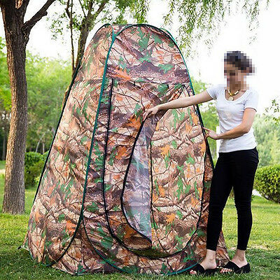 Pop Up Camping Shower Toilet Tent Outdoor Privacy Change Room Shelter