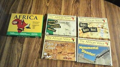 Africa - Lost Civilizations (Time-Life Explorers - Kit Contains: VHS, Teacher..
